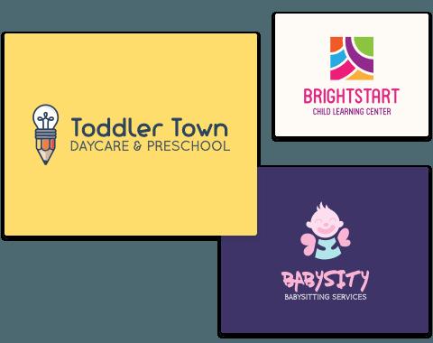 Children & Childcare Logos