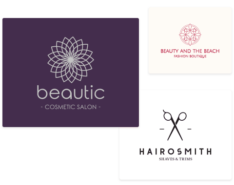 Cosmetics & Beauty Logos