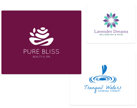 Wellness & Spa Logos
