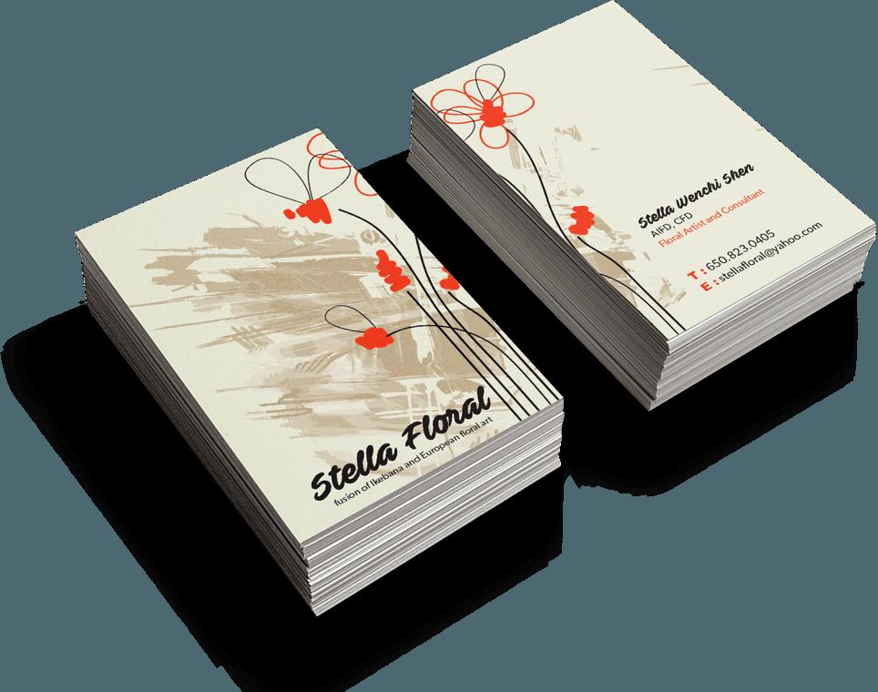 Carte De Noel Yahoo.Business Card Design Custom Business Card Design Service