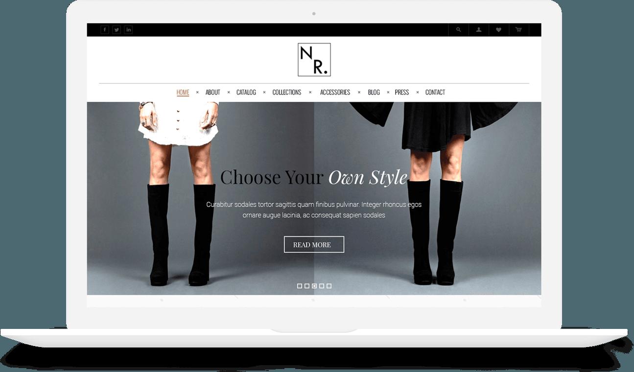 Website design custom website design service